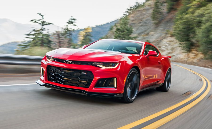 2017 Chevrolet Camaro Zl1 First Drive Review Car And
