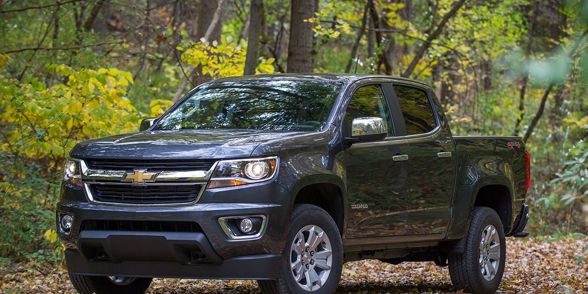 2017 Chevrolet Colorado V 6 8 Speed Automatic 4x4 Crew Cab Test