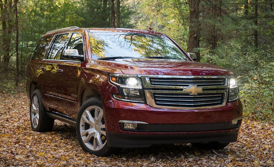 2017 chevrolet tahoe 4wd test review car and driver. Black Bedroom Furniture Sets. Home Design Ideas