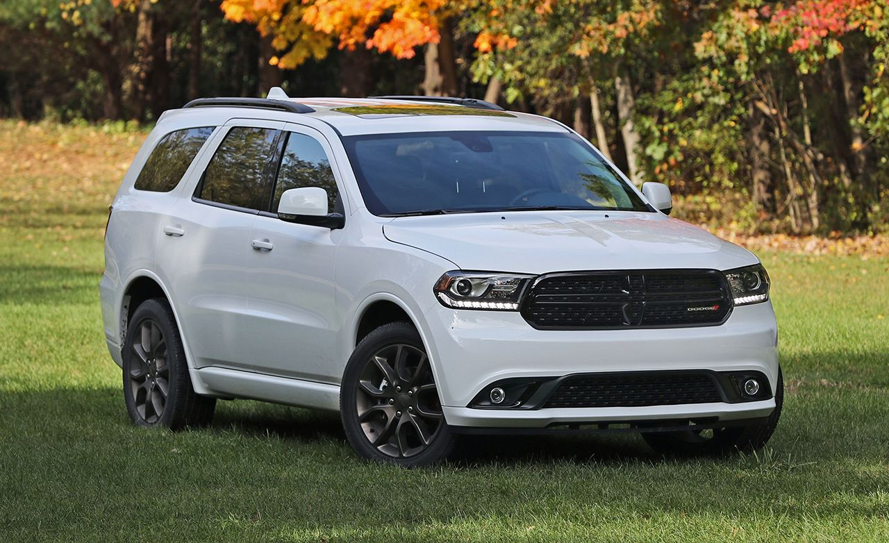 Rims For Cheap >> 2017 Dodge Durango V-6 AWD Tested | Reviews | Car and Driver