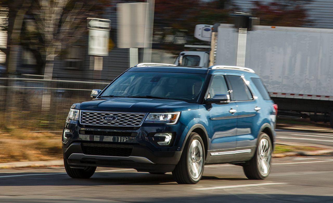 2017 Ford Explorer Platinum & 2017 Ford Explorer Platinum Test u2013 Review u2013 Car and Driver markmcfarlin.com