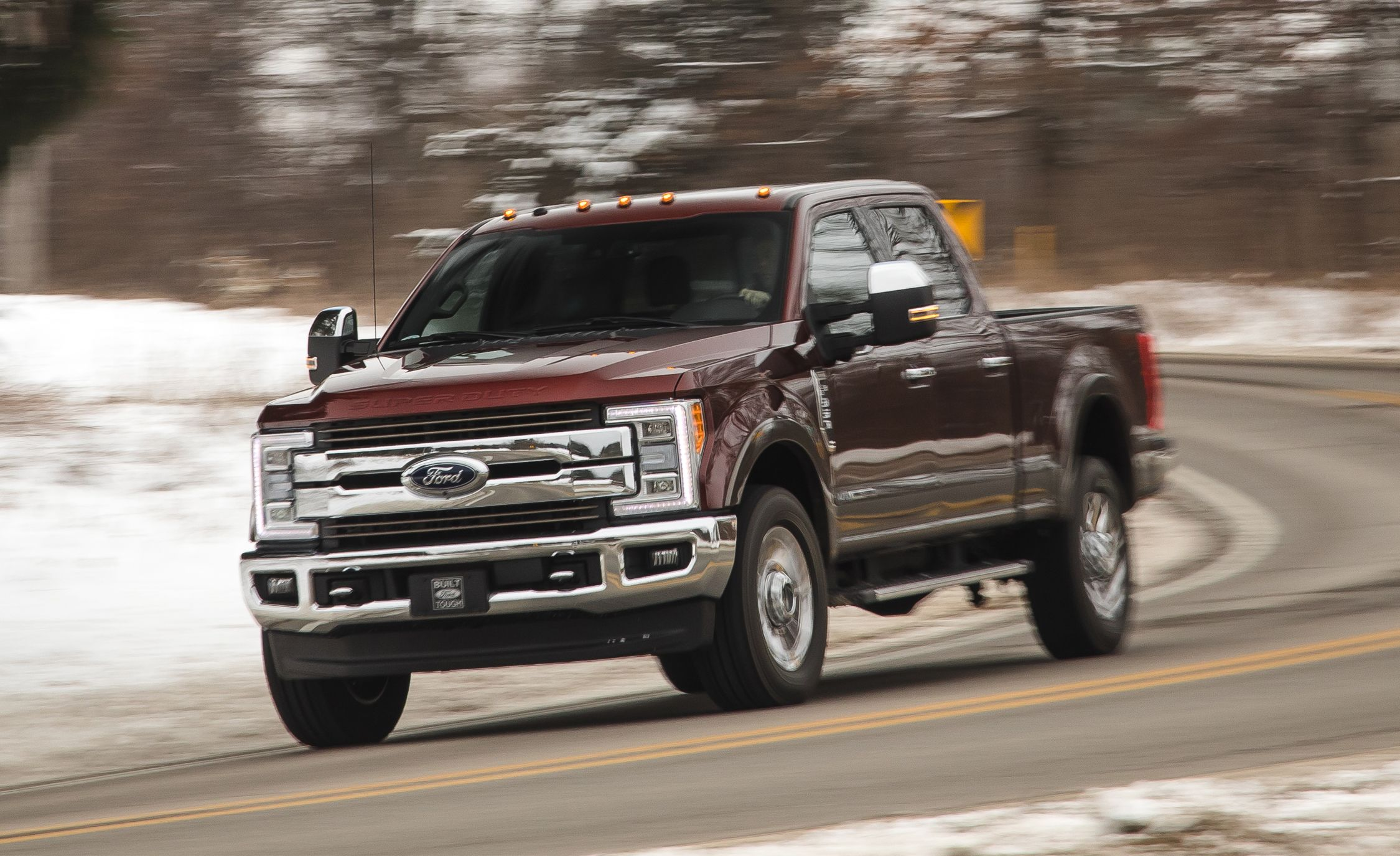 2017 Ford F 350 Super Duty Diesel 4x4 Crew Cab Review