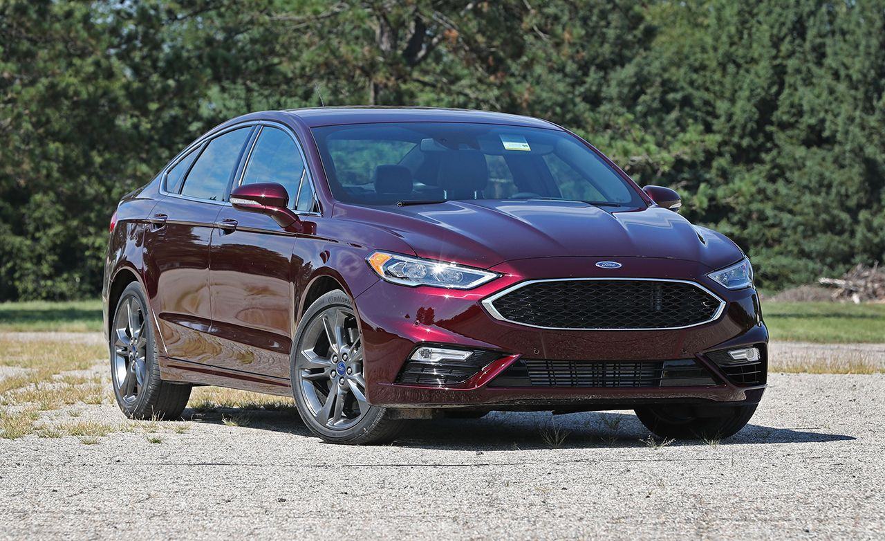 2017 Ford Fusion Sport with Summer Tires Tested u2013 Review u2013 Car and Driver : ford fusion car reviews - markmcfarlin.com