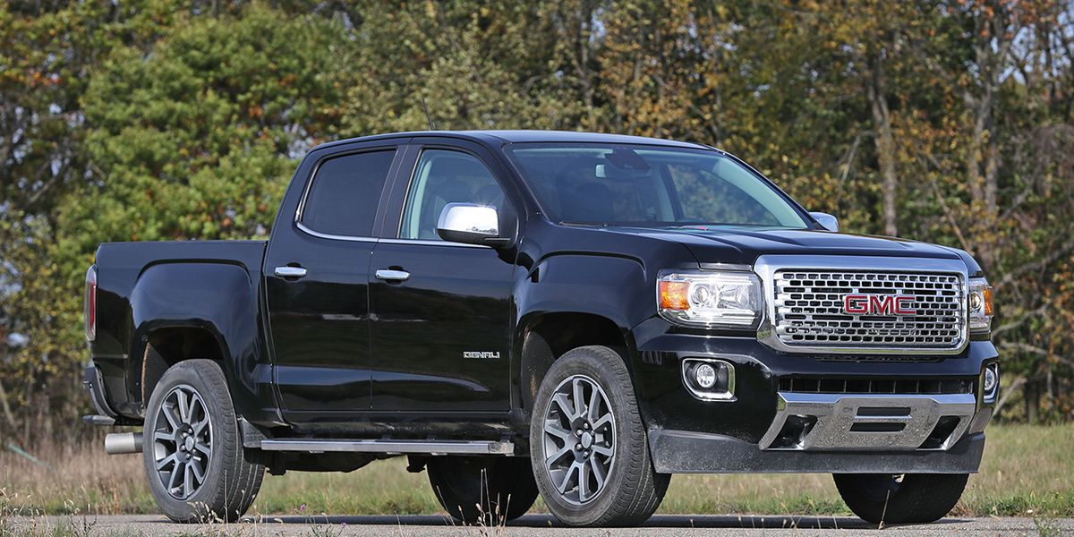 2017 GMC Canyon – Review – Car and Driver
