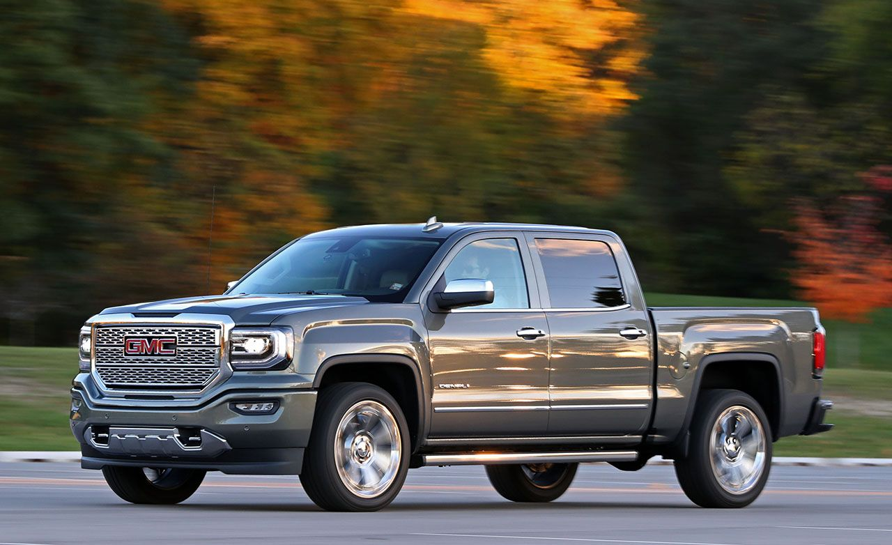 2017 Gmc Sierra 1500 Review Car And Driver