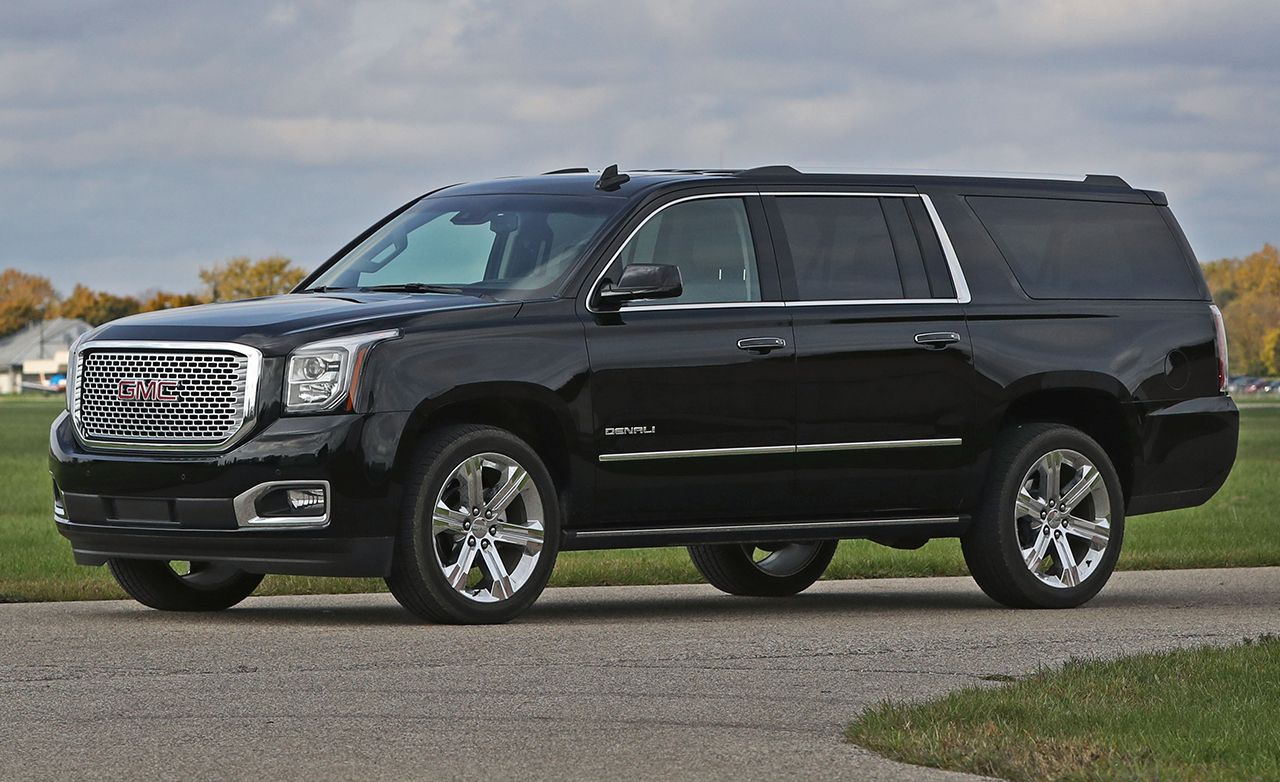 Gmc Yukon Xl Denali >> 2017 Gmc Yukon Xl Denali 4wd Instrumented Test Review Car And Driver