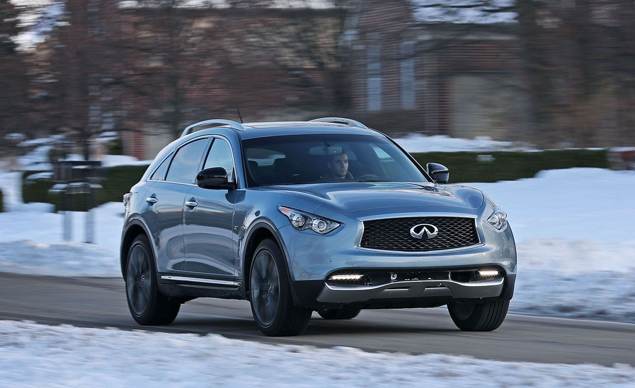 2017 Infiniti Qx70 Reviews Infiniti Qx70 Price Photos And Specs