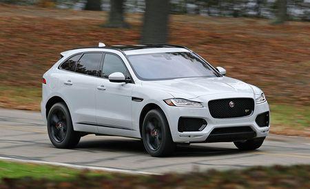 2017 Jaguar F Pace S