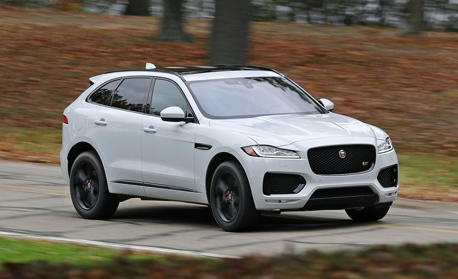 2017 jaguar f pace s test review car and driver. Black Bedroom Furniture Sets. Home Design Ideas