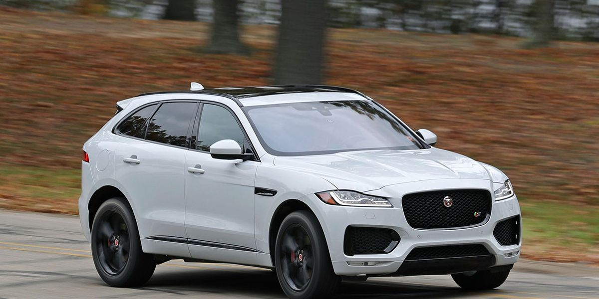 2017 jaguar f-pace s test – review – car and driver