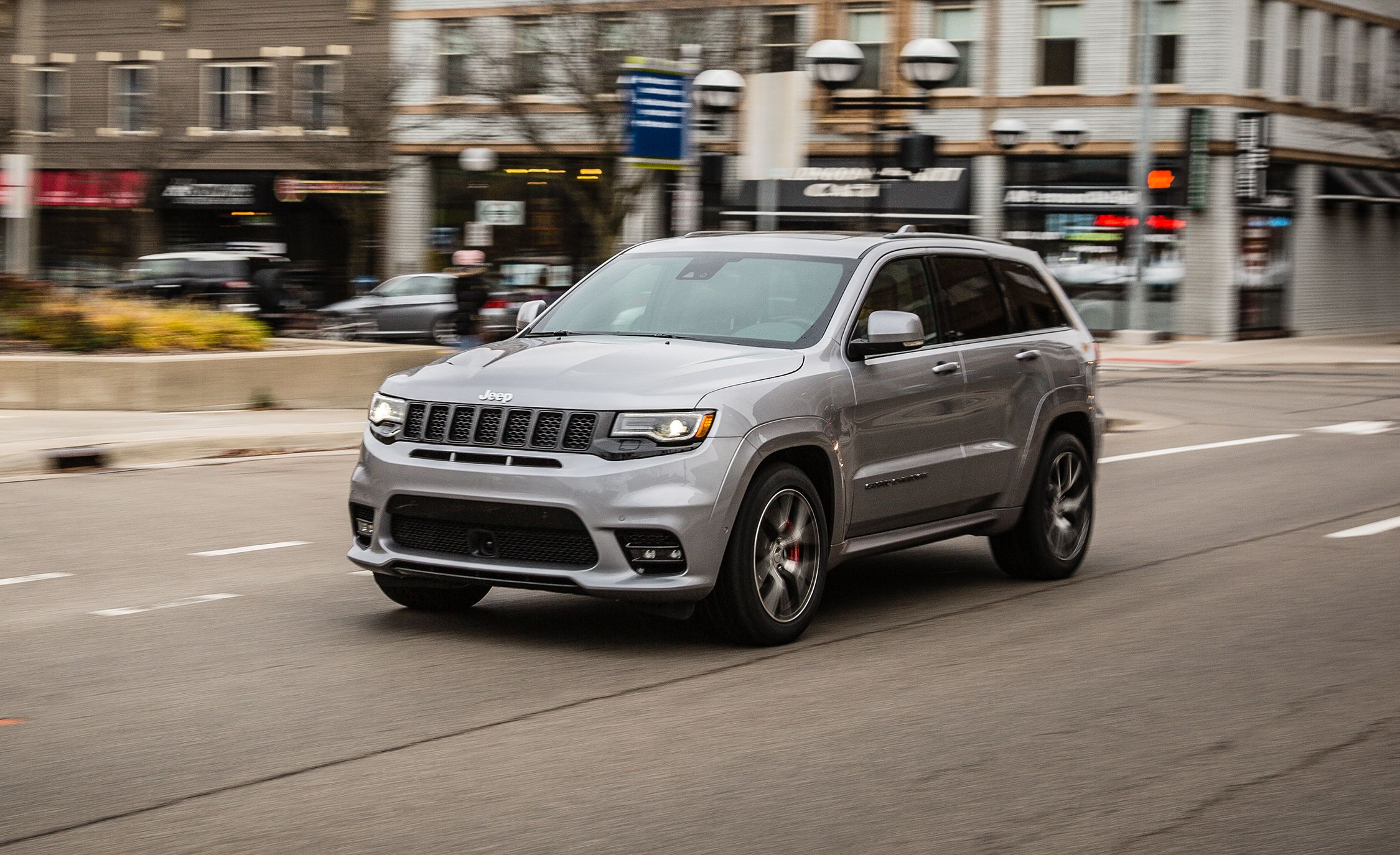 Lovely 2017 Jeep Grand Cherokee SRT
