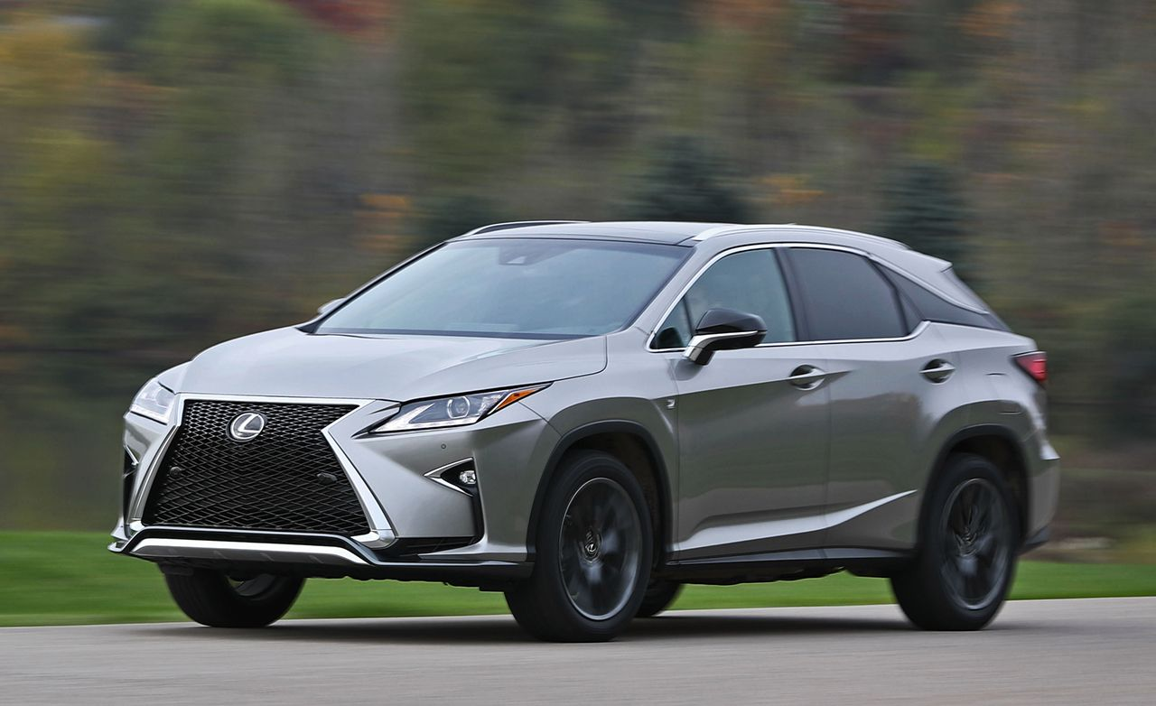 Lexus rx 350 road test