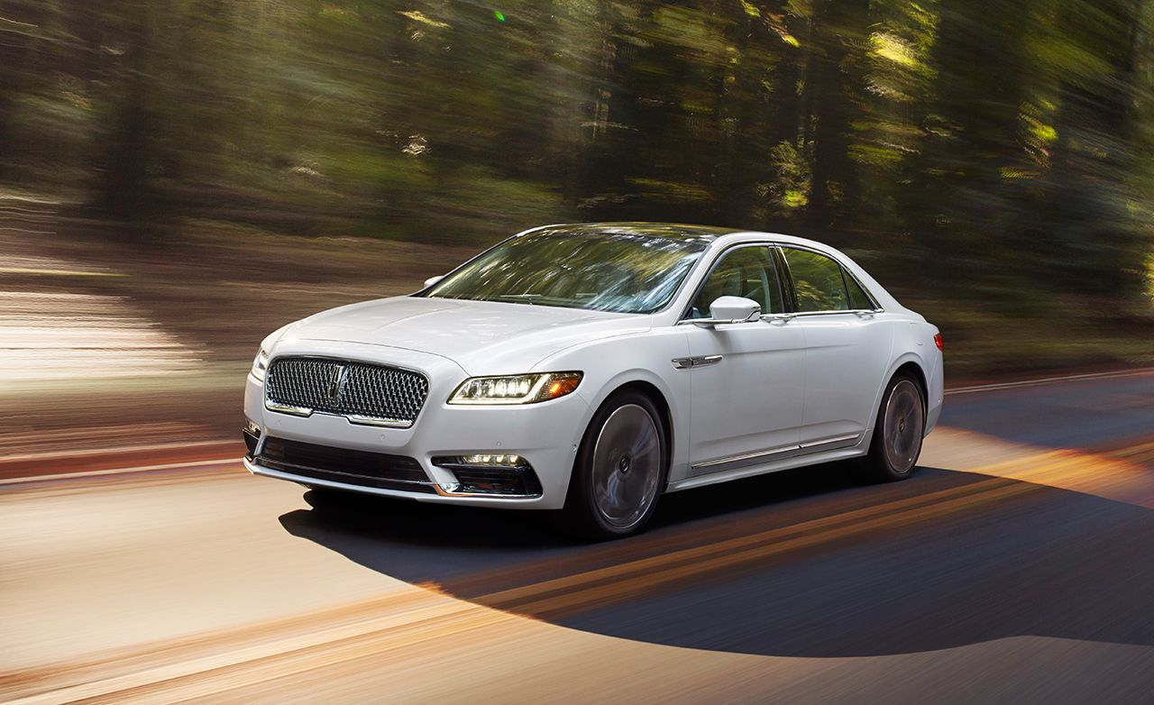 2017 Lincoln Continental First Drive Review Car And Driver