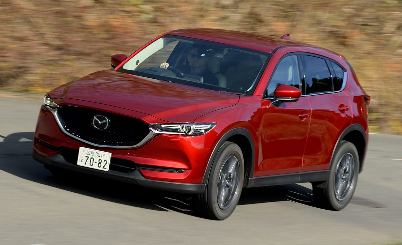 2017 mazda cx-5 japan-spec prototype drive – review – car and driver