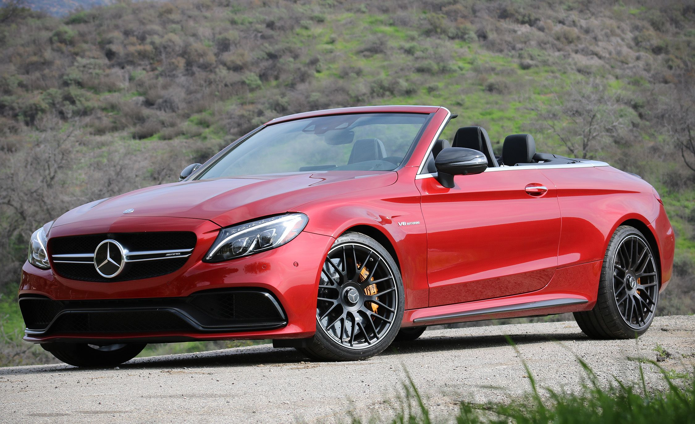 2017 Mercedes Amg C63 Cabriolet Test Review Car And Driver