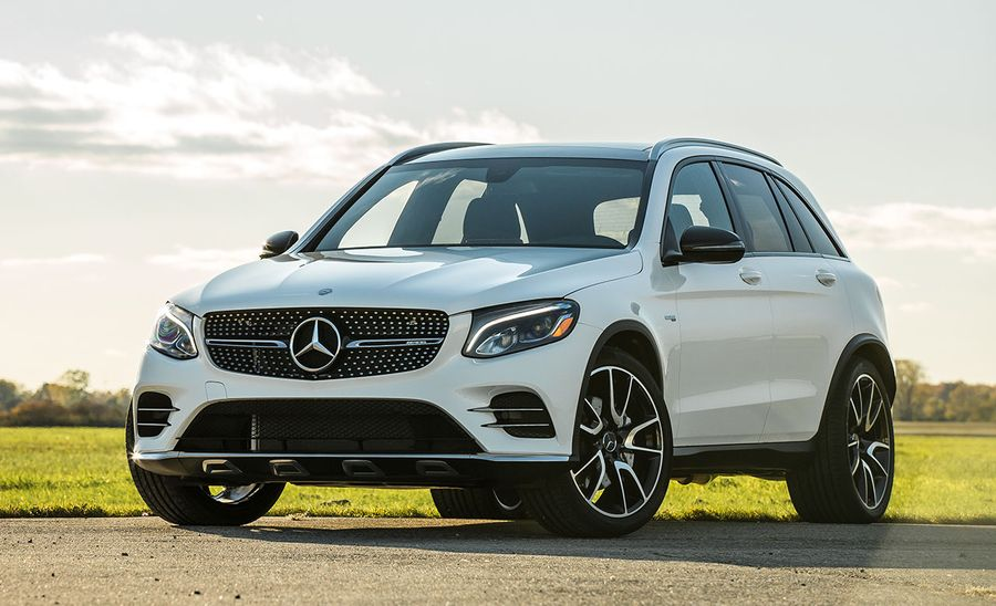 2017 mercedes amg glc43 test review car and driver for Mercedes benz glc43 amg