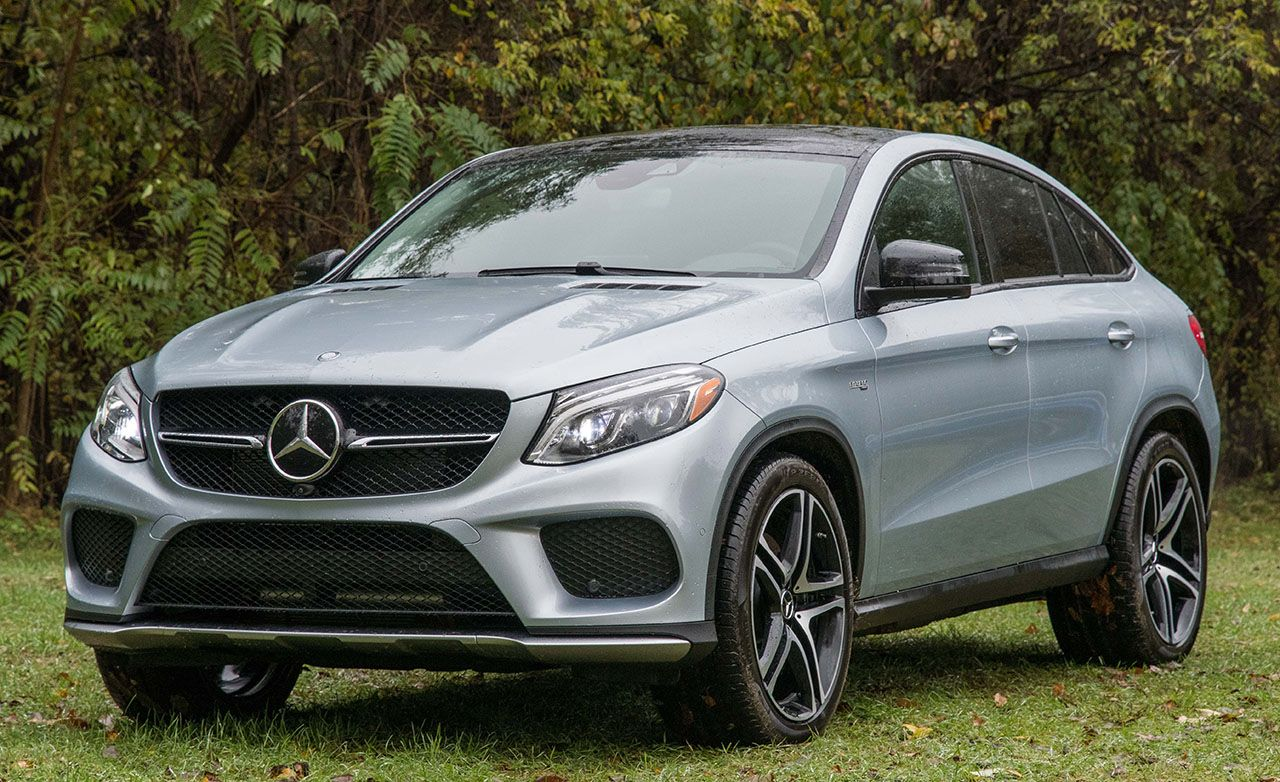2017 Mercedes Amg Gle43 Coupe 4matic