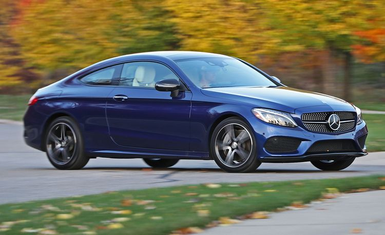 2017 Mercedes-Benz C300 Coupe 4MATIC