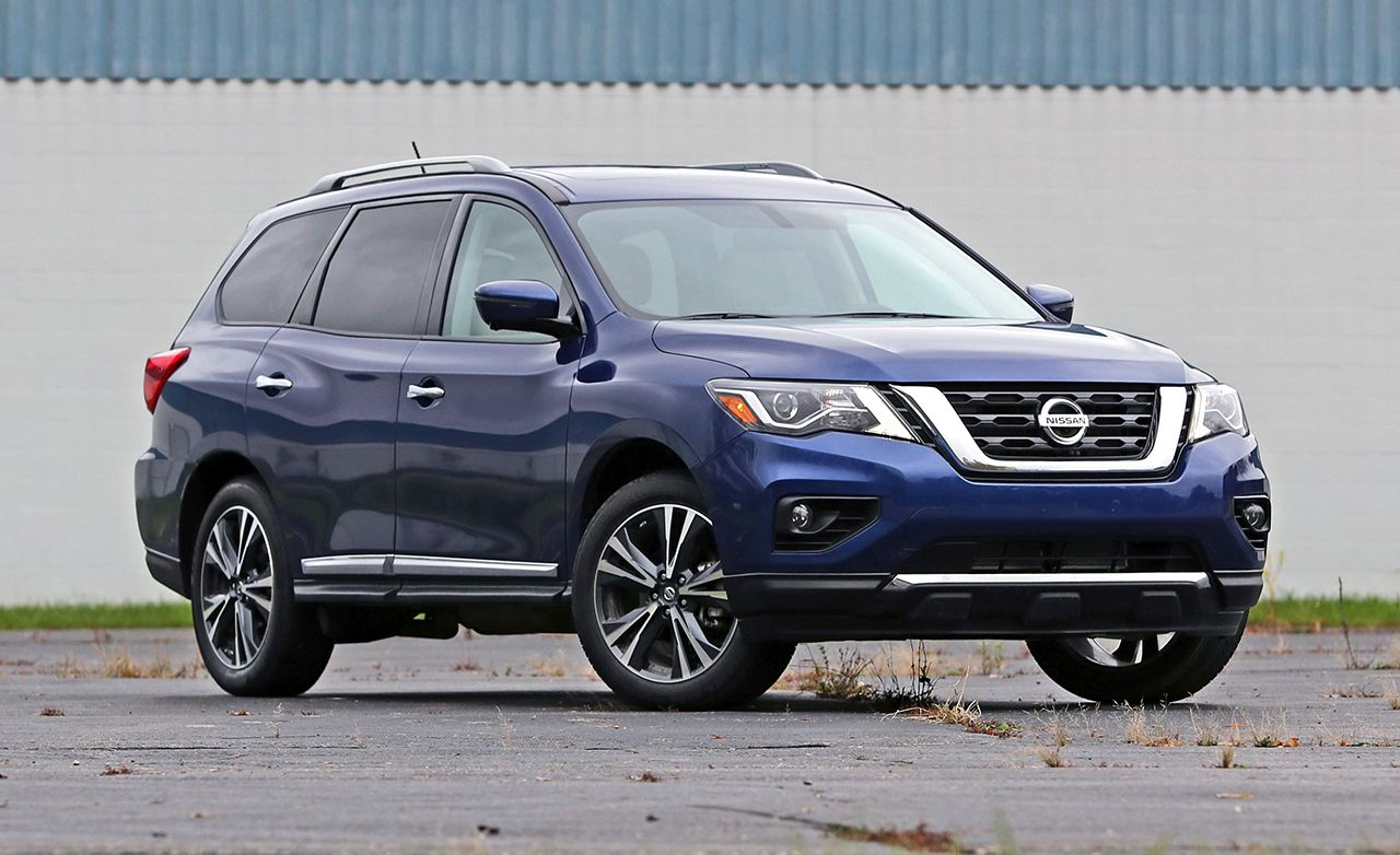 2017 Nissan Pathfinder Platinum Awd Review Car And Driver