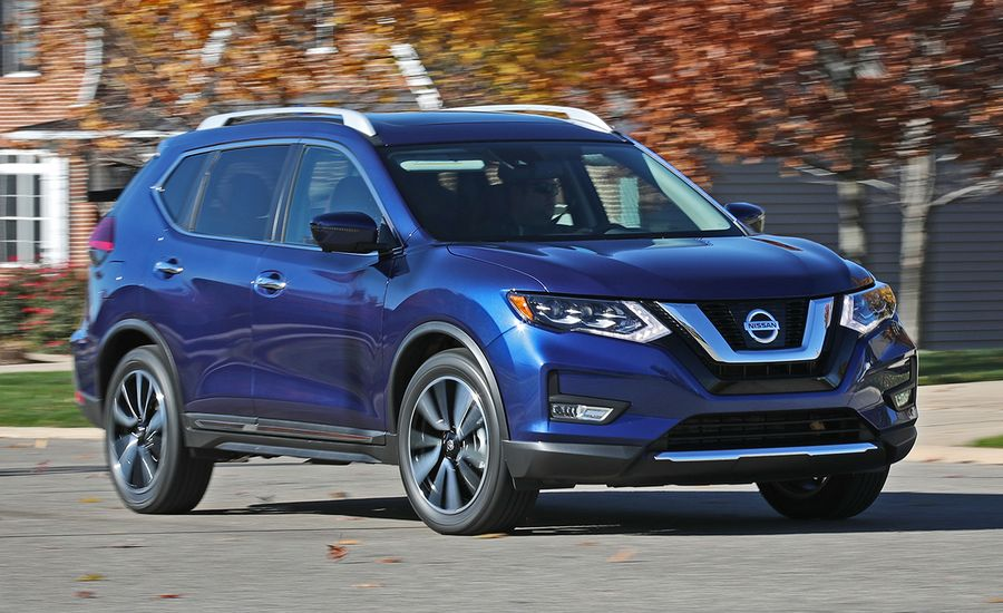 2017 Nissan Rogue AWD Tested | Review | Car and Driver