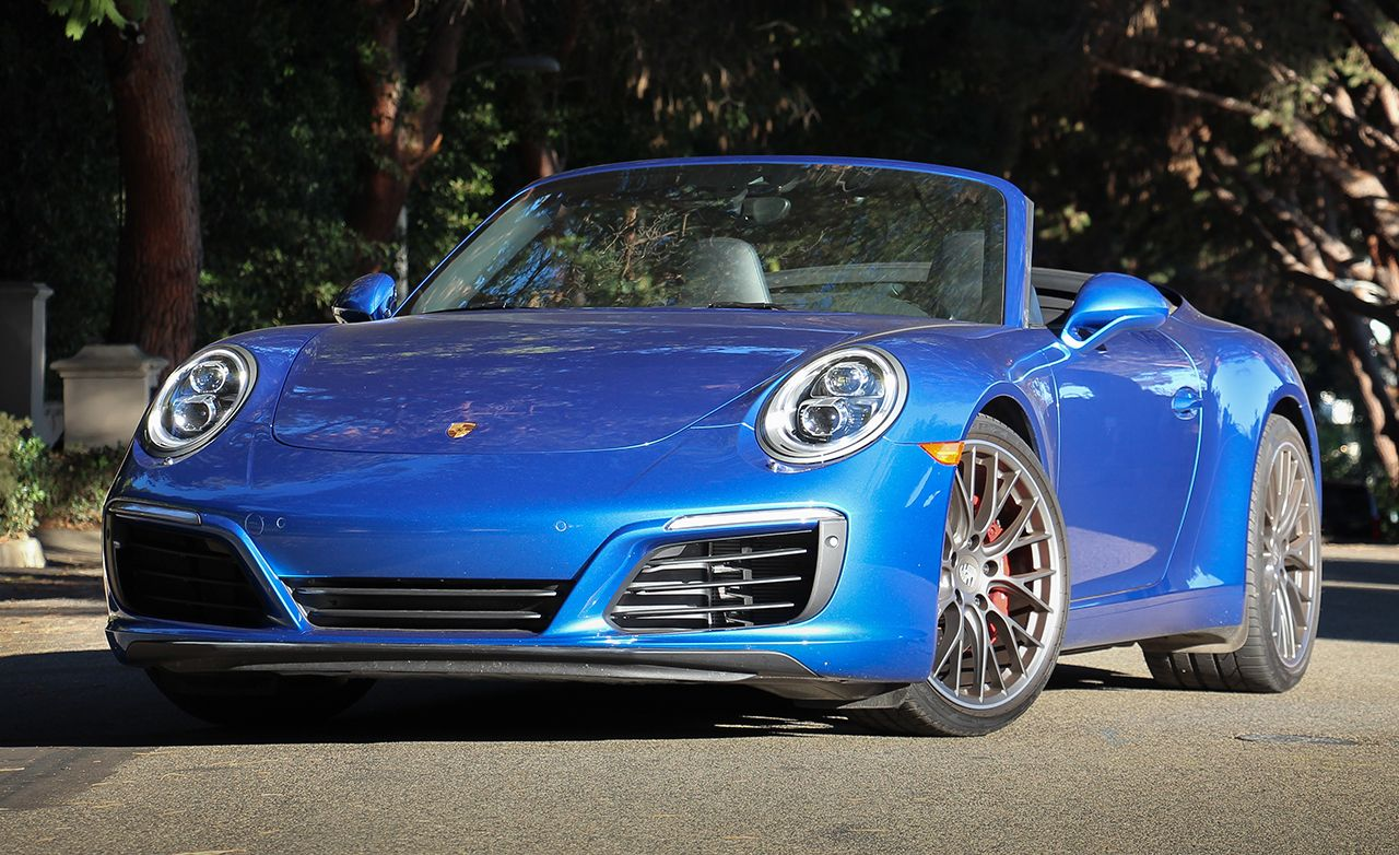 2017 Porsche 911 Carrera S Cabriolet Pdk Automatic Test Review Car And Driver