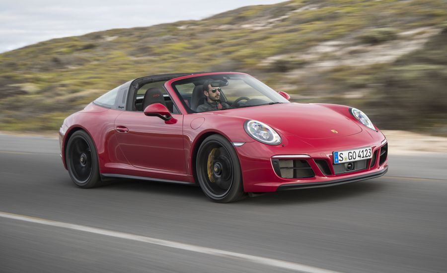 2017 Porsche 911 Gts First Drive Review Car And Driver