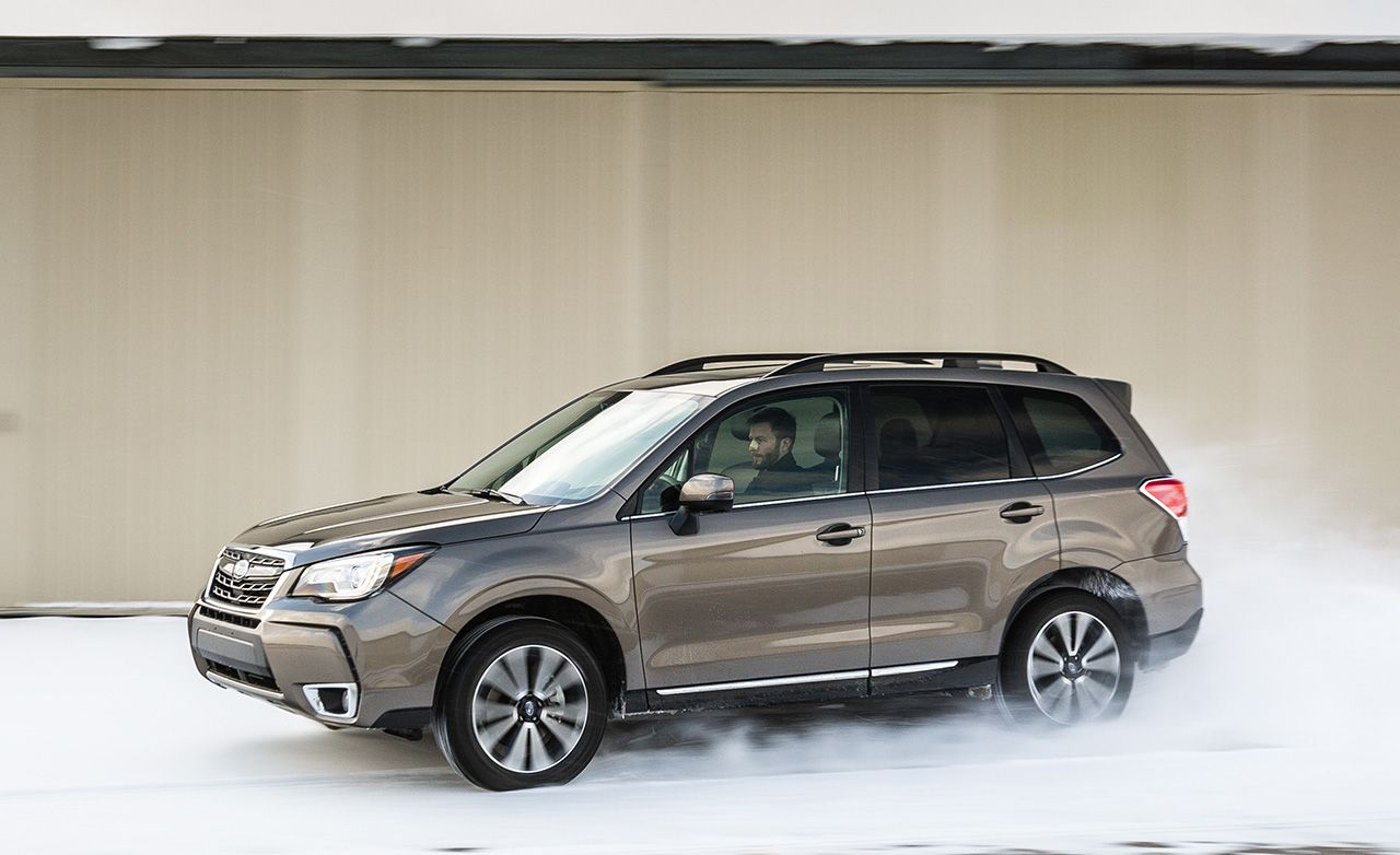 2017 Subaru Forester Review Car And Driver