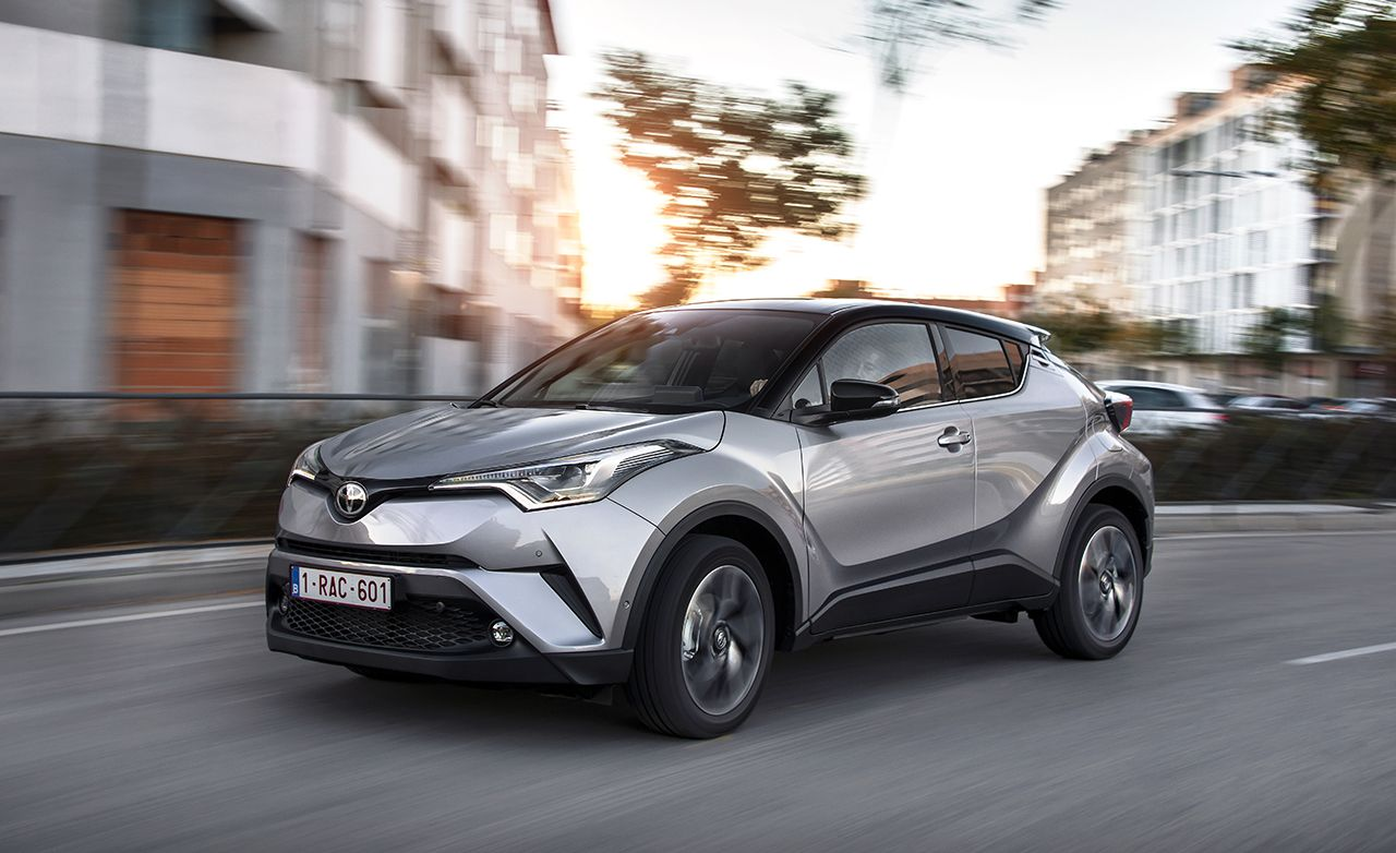 2017 Toyota C Hr Euro Spec Drive Review Car And Driver