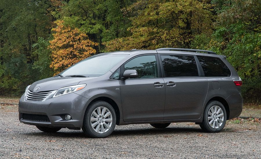 2017 toyota sienna awd test review car and driver. Black Bedroom Furniture Sets. Home Design Ideas