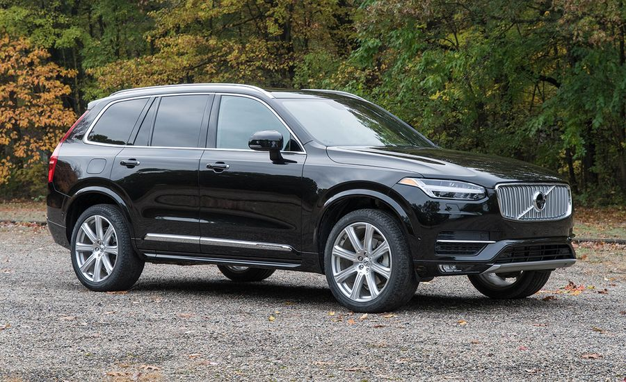 2017 volvo xc90 quick take review car and driver. Black Bedroom Furniture Sets. Home Design Ideas