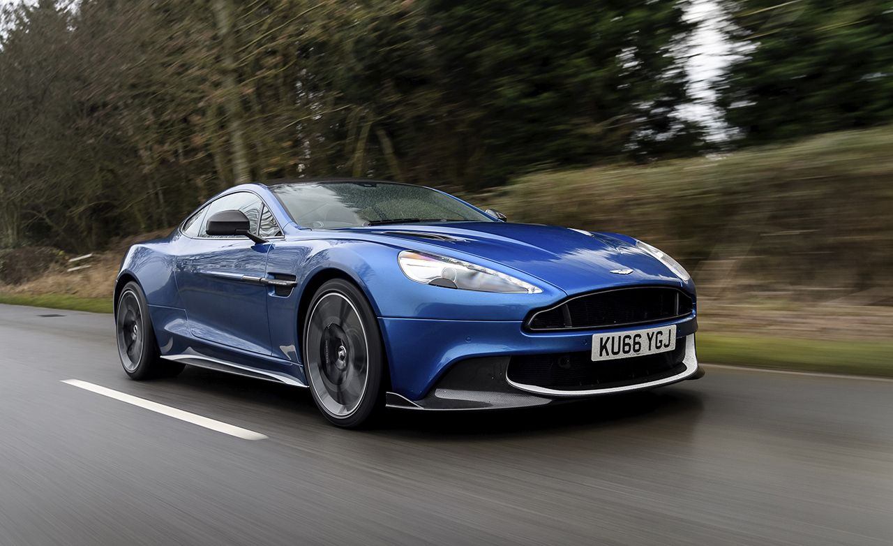 2018 Aston Martin Vanquish S First Drive Review Car And Driver