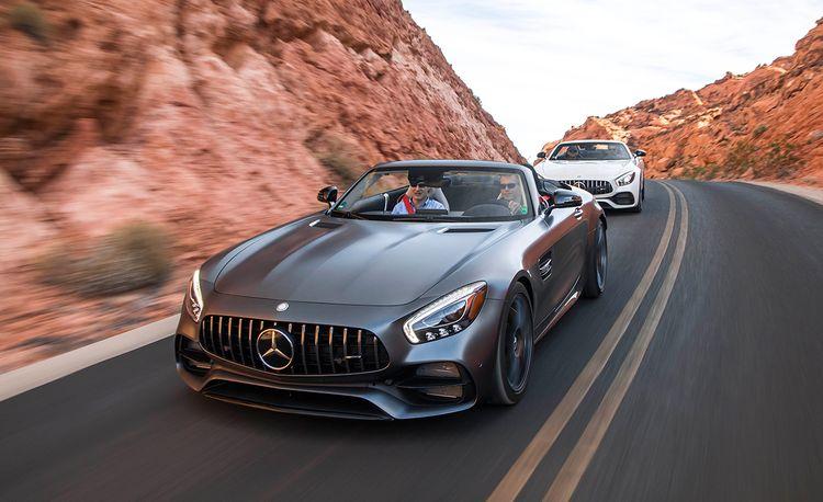 2018 Mercedes-AMG GT / GT C Roadster