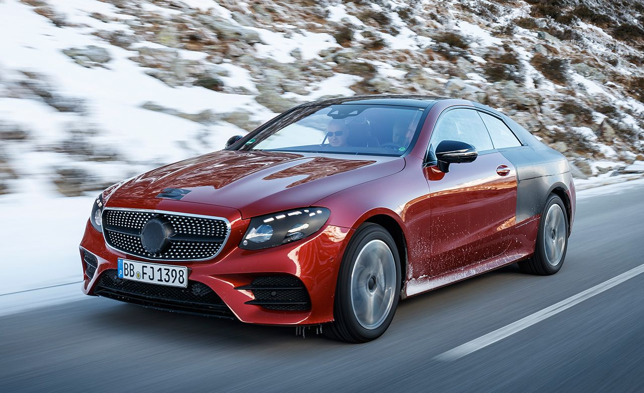 2018 mercedes-benz e-class coupe first ride – review – car and driver
