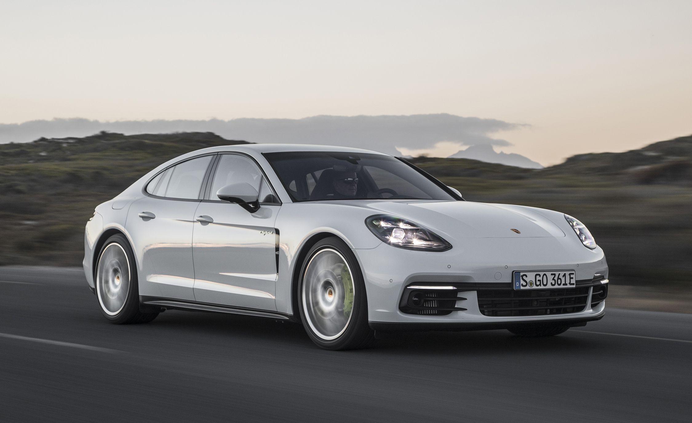 2018 Porsche Panamera 4 E-Hybrid Plug-In First Drive | Review | Car