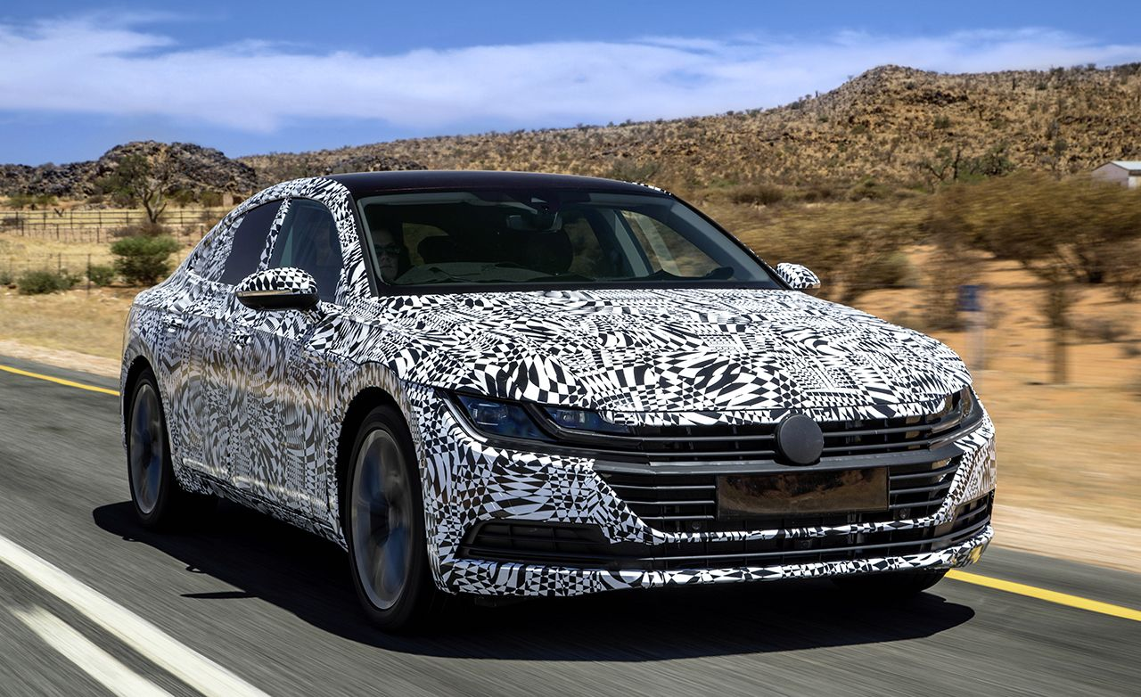 2019 Volkswagen Arteon Reviews Volkswagen Arteon Price Photos