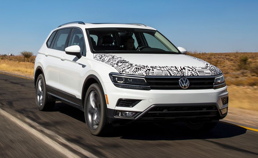 2018 volkswagen tiguan prototype drive review car and driver. Black Bedroom Furniture Sets. Home Design Ideas