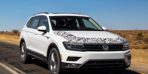 2018 Volkswagen Tiguan We Finally Sample The U S Version