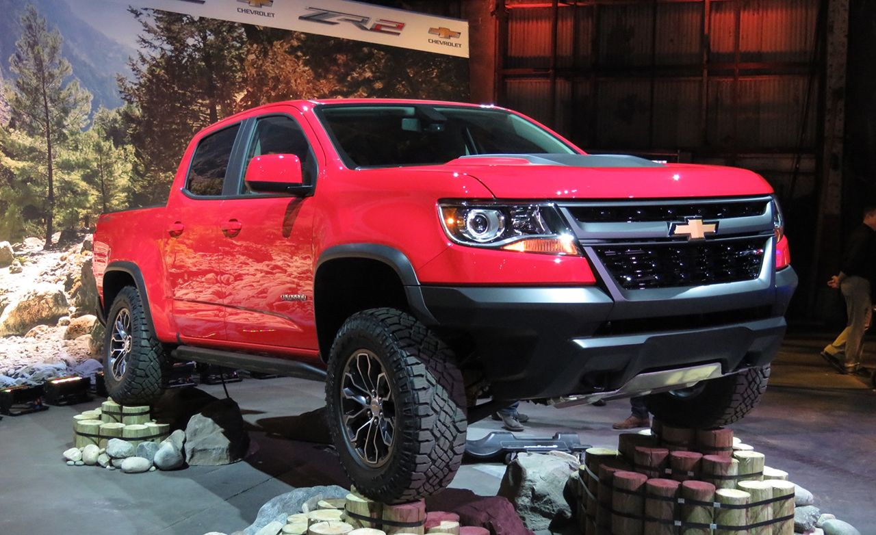 2017 Chevrolet Colorado Zr2 Photos And Info News Car And Driver