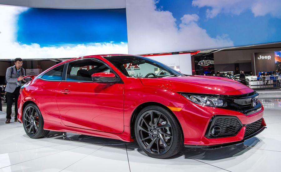 2017 Honda Civic Si Coupe Prototype Resort To Sport