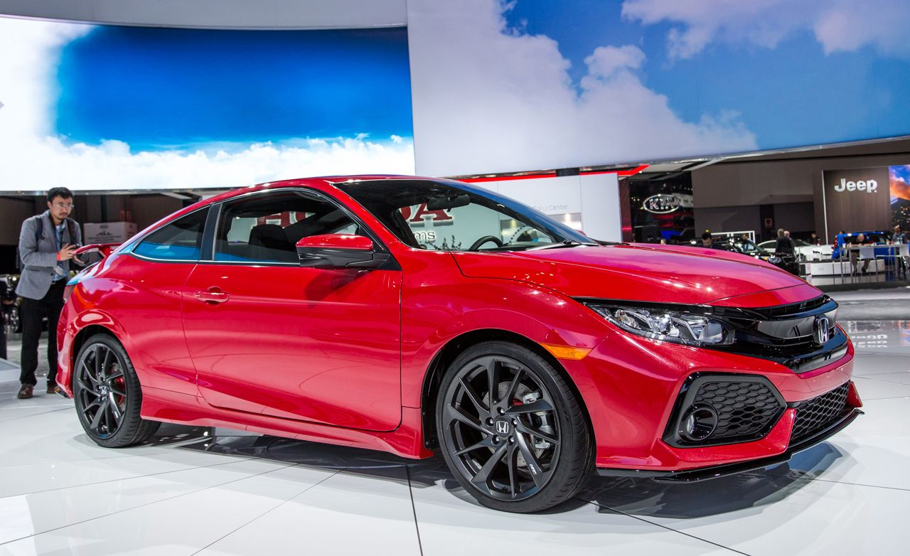 Great 2017 Honda Civic Si Coupe Prototype: Resort To Sport