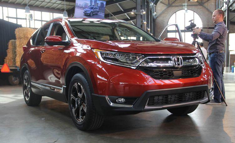 2017 Honda CR-V: Now with Turbo Power!
