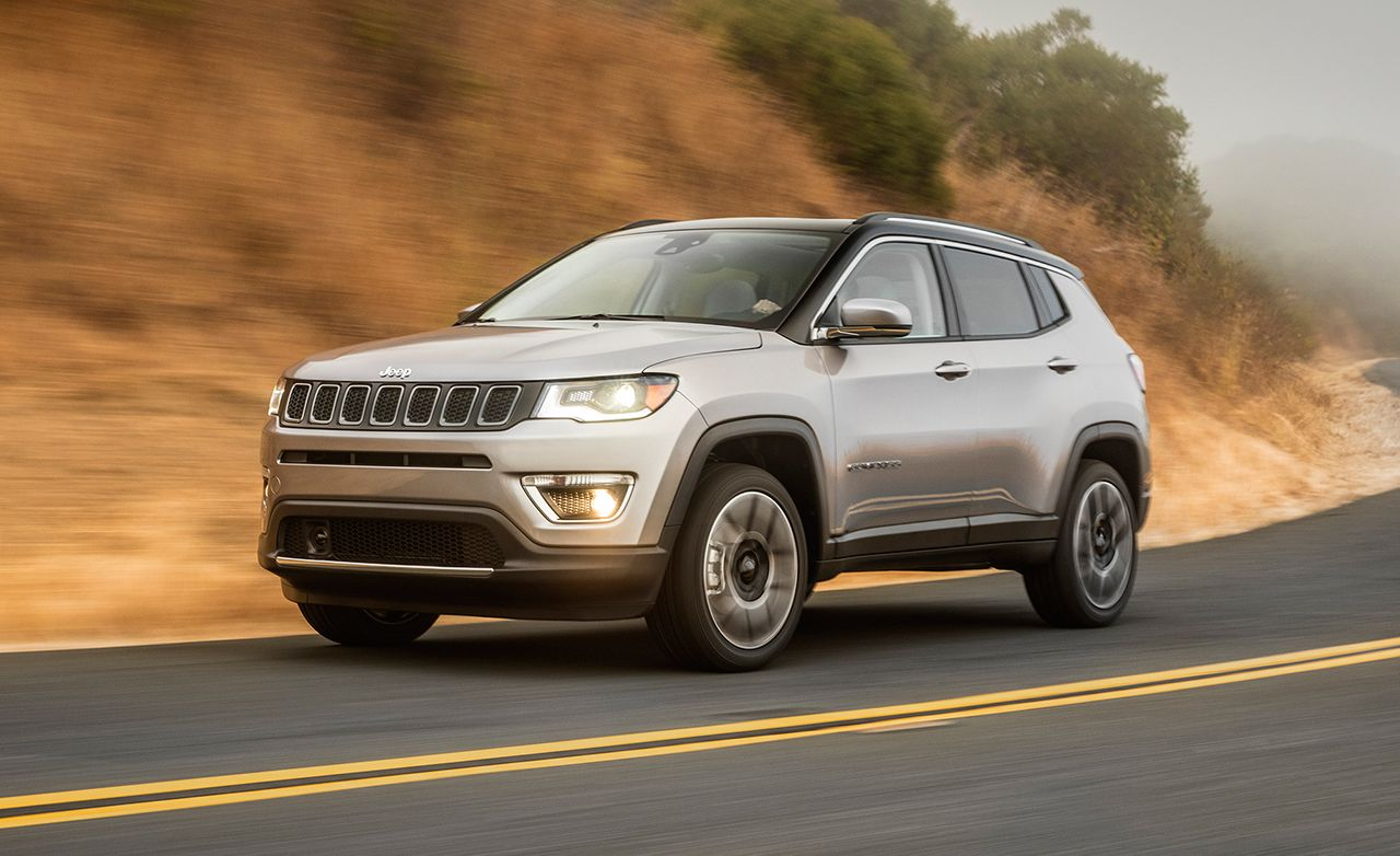 Jeep Compass Reviews Jeep Compass Price Photos And Specs Car