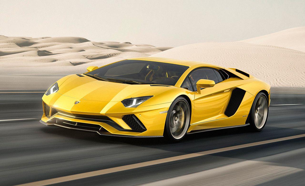 2016 Lamborghini Aventador Lp750 4 Sv First Drive Review Car And Driver