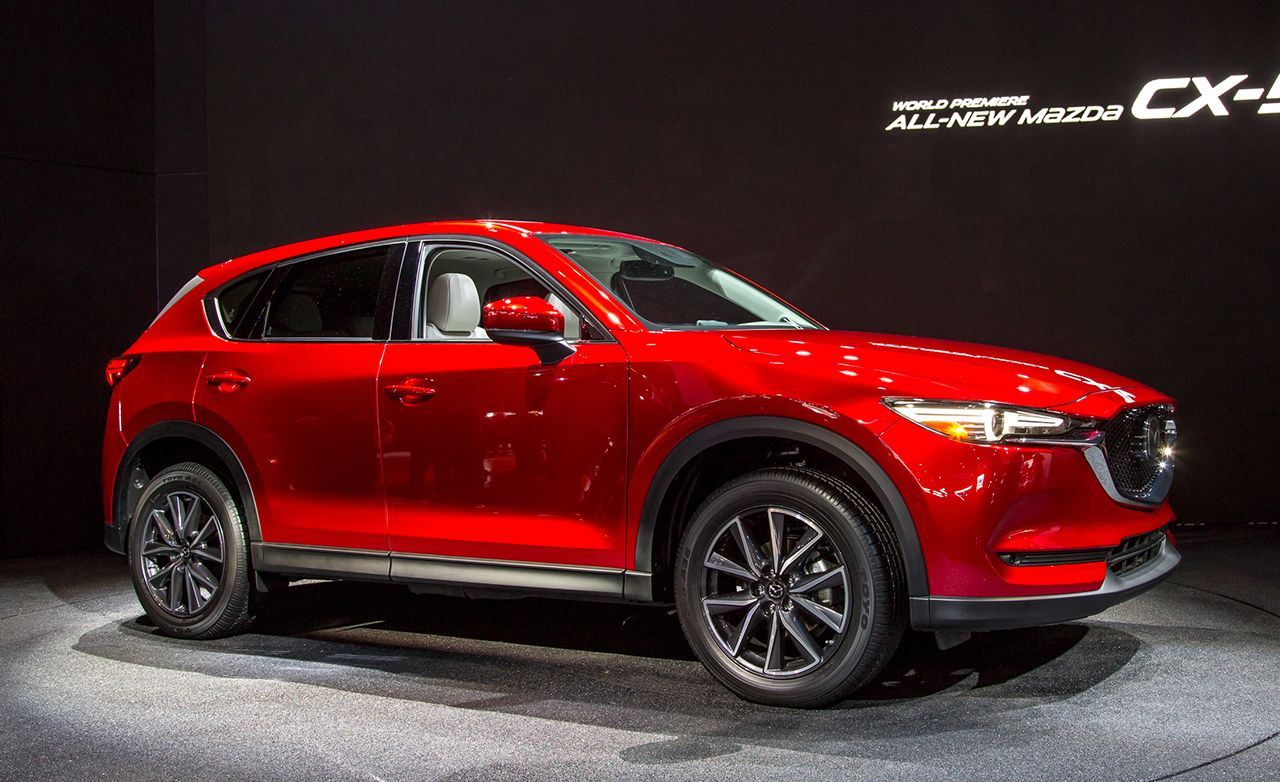 2017 mazda cx 5 photos and info news car and driver. Black Bedroom Furniture Sets. Home Design Ideas