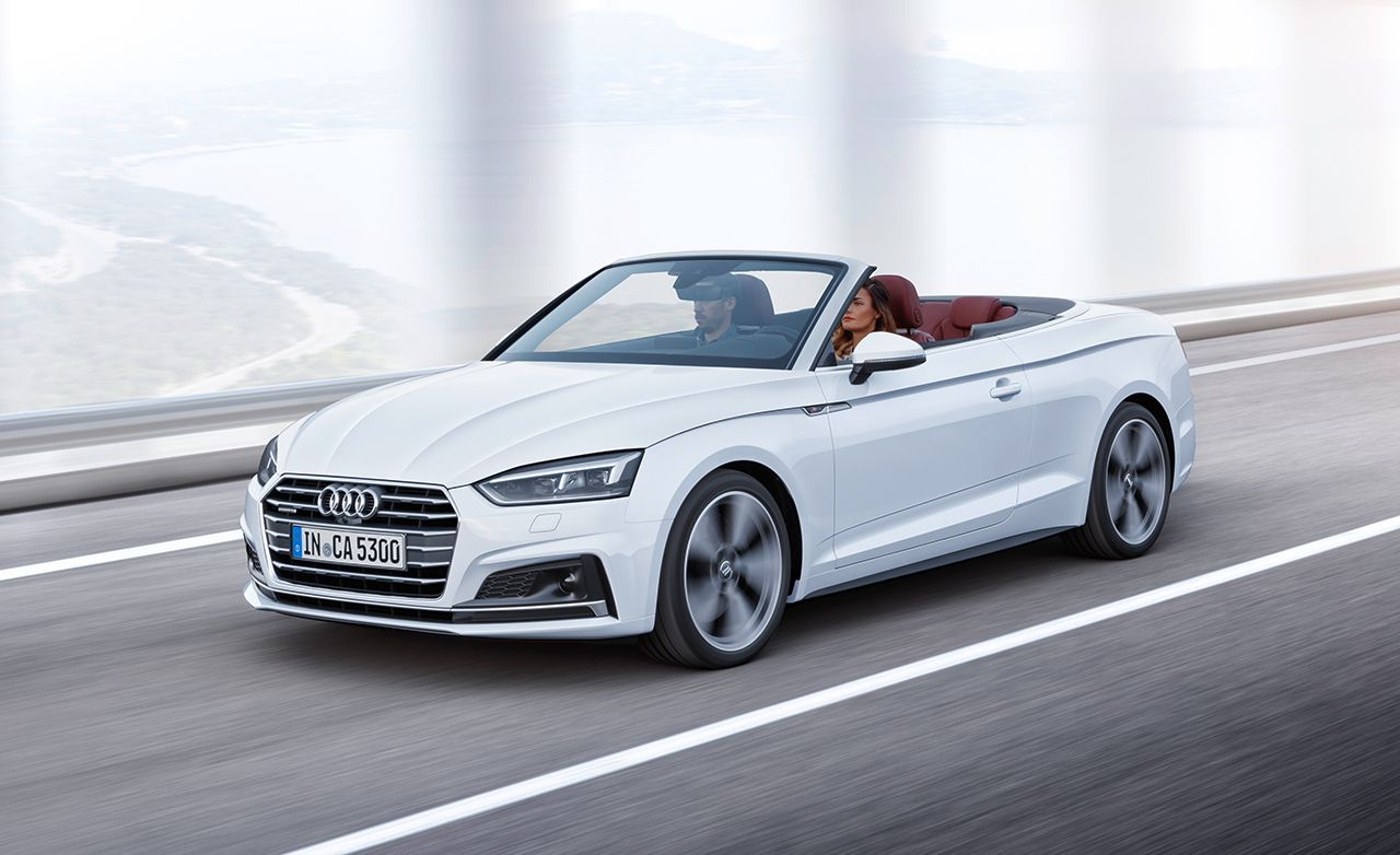 2018 Audi A5 and S5 Cabrios Photos and Info – News – Car and Driver