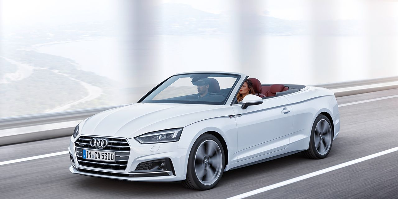 2018 Audi A5/S5 Cabriolet: Wide Open