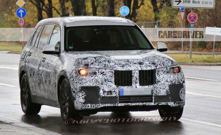 2018 BMW X7: Seven, as in Seven Seats