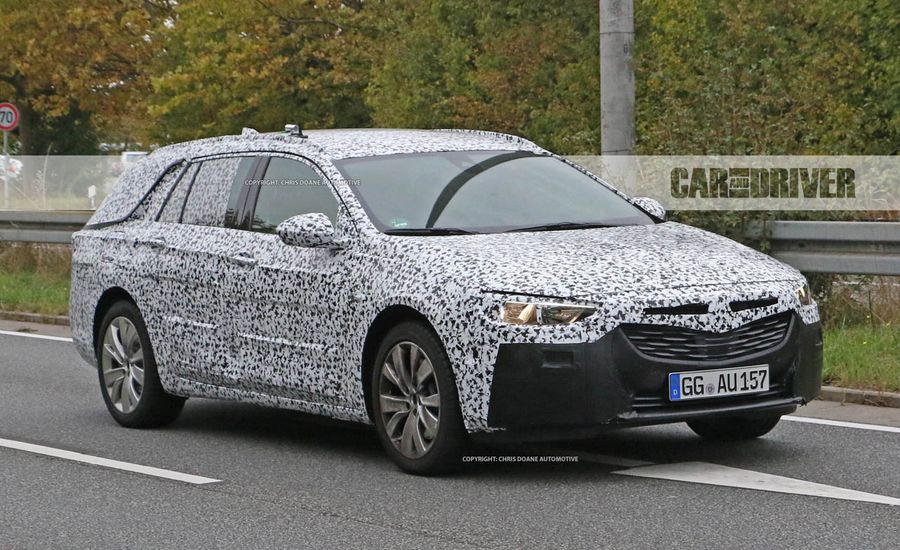 2018 Buick Regal Wagon Spied: Not Your Grandfather's Roadmaster