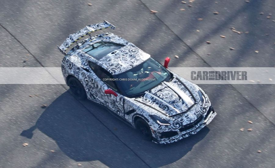 The 2019 Corvette Stingray ZR1 Is Going to Have Insane Aero