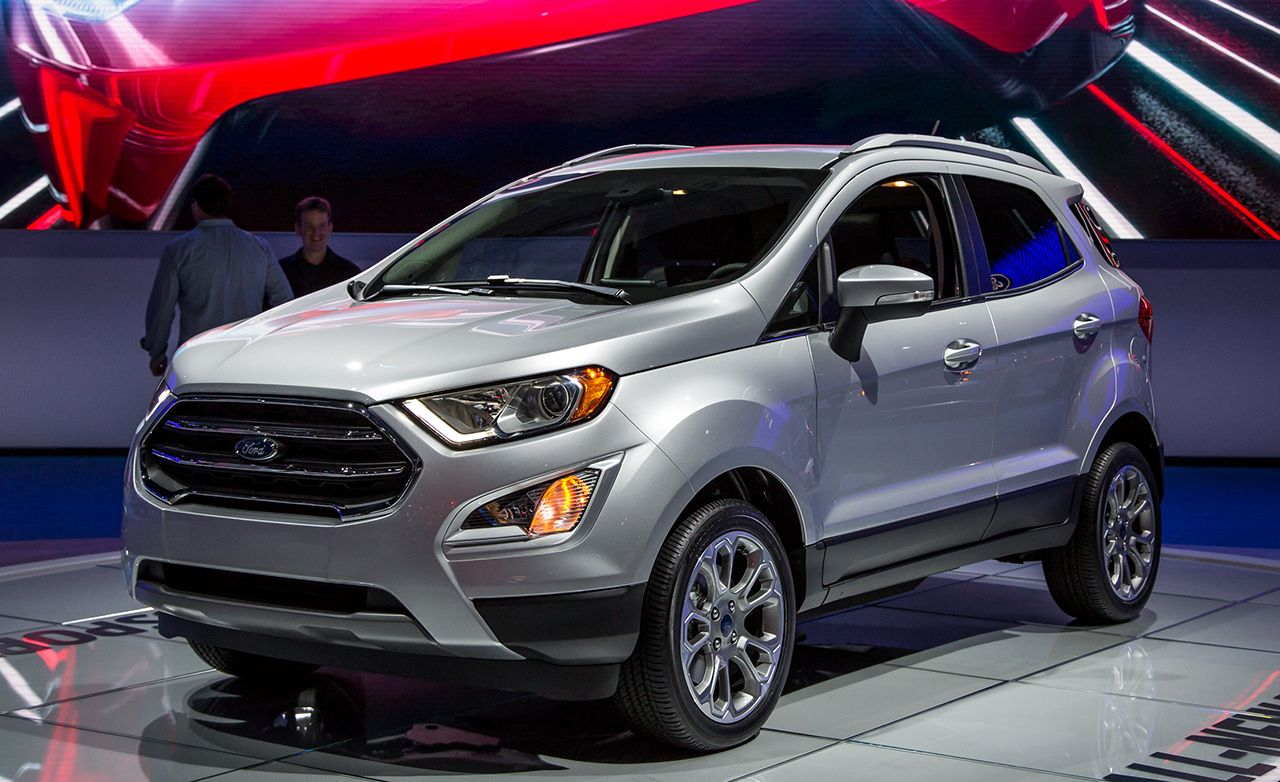2018 Ford EcoSport: Ford Finally Gets In The Wee SUV Game
